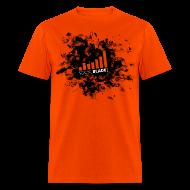 T-Shirts ~ Men's T-Shirt ~ Social Blade Orange Smash T-Shirt