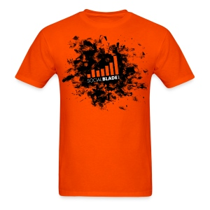 Social Blade Orange Smash T-Shirt - Men's T-Shirt
