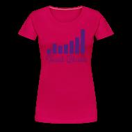 T-Shirts ~ Women's Premium T-Shirt ~ Social Balde Purple Logo Women's Shirt