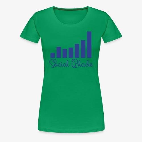 Social Balde Girly Logo Women's Shirt - Women's Premium T-Shirt