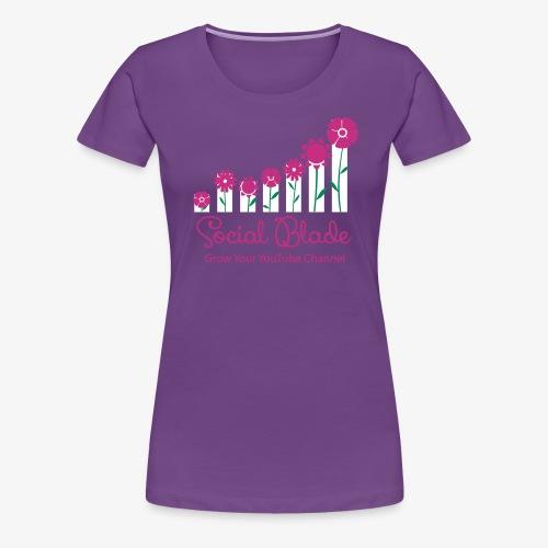 Socal Blade Flower Logo Women's Shirt - Women's Premium T-Shirt