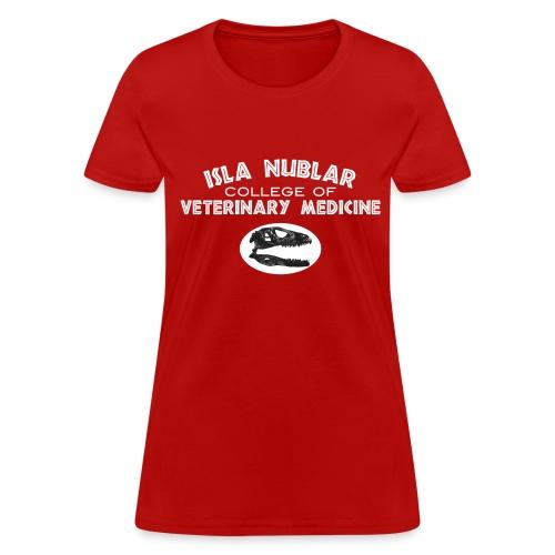 Dino Vet (dark colors) - Women's T-Shirt
