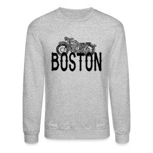 Vintage Boston Motorcycle  - Crewneck Sweatshirt