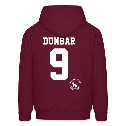 DUNBAR 9 - Hoodie (XL Logo +S) - Men's Hoodie