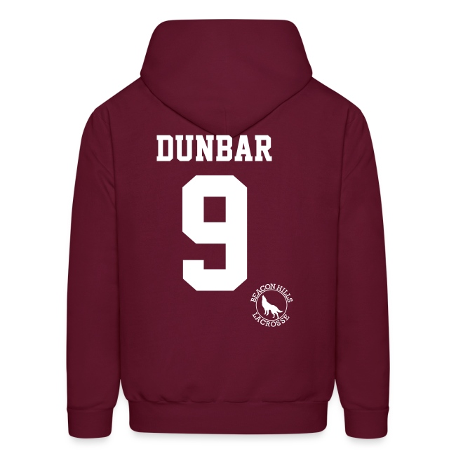 """DUNBAR 9"" - Hoodie (XL Logo +S)"