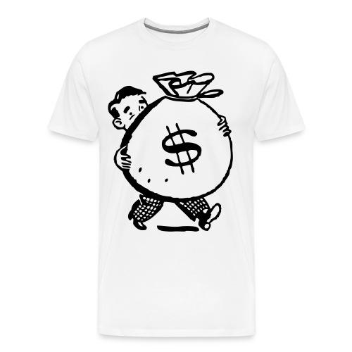 Making bank! - Men's Premium T-Shirt