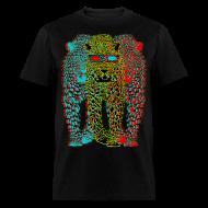 T-Shirts ~ Men's T-Shirt ~ Lepard 3-D
