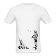 T-Shirts ~ Men's T-Shirt ~ Banksy Fallen Angel