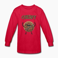 Funny Nerd Humor - Chewy Chocolate Cookie Wookiee Kids' Shirts