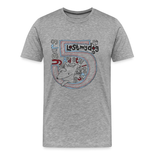Men's Premium T - 5 Year Logo - Men's Premium T-Shirt