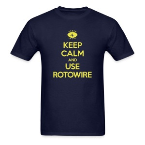 Keep Calm and Use RotoWire - Men's T-Shirt
