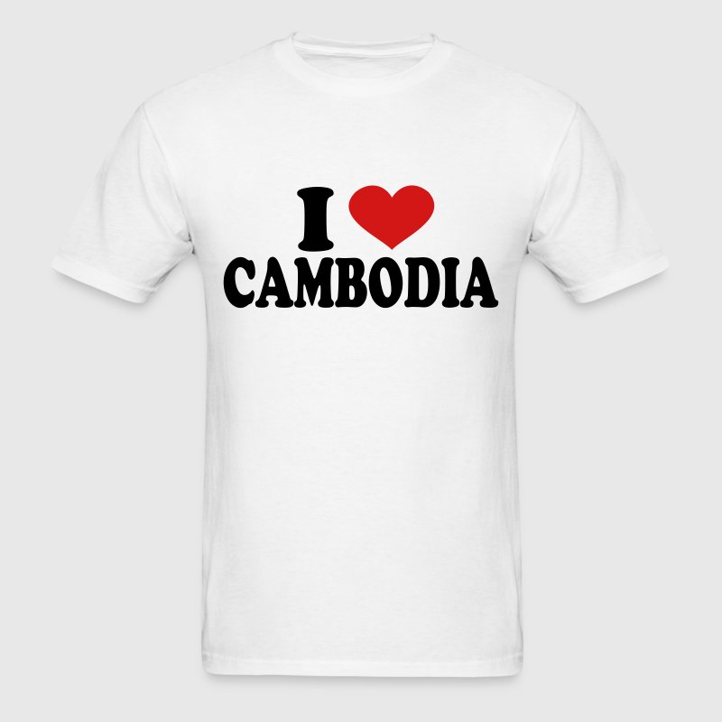 I Love Cambodia T-Shirts - Men's T-Shirt
