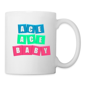 Coffee/Tea Mug - This attention-grabbing neon design will spring your serve into action.