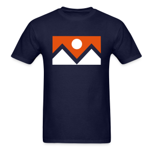 Denver Flag - Bronc - Mens - Men's T-Shirt