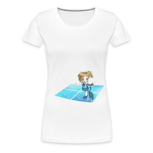 'Walking with Cats' for Ladies - Women's Premium T-Shirt