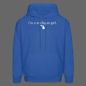 I'm a Michigan Girl - Men's Hoodie