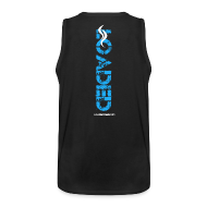 Tank Tops ~ Men's Premium Tank Top ~ Loaded logo blue