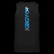 Sportswear ~ Men's Premium Tank ~ Loaded logo blue