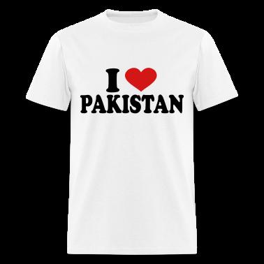 I Love Pakistan T Shirts A18104862