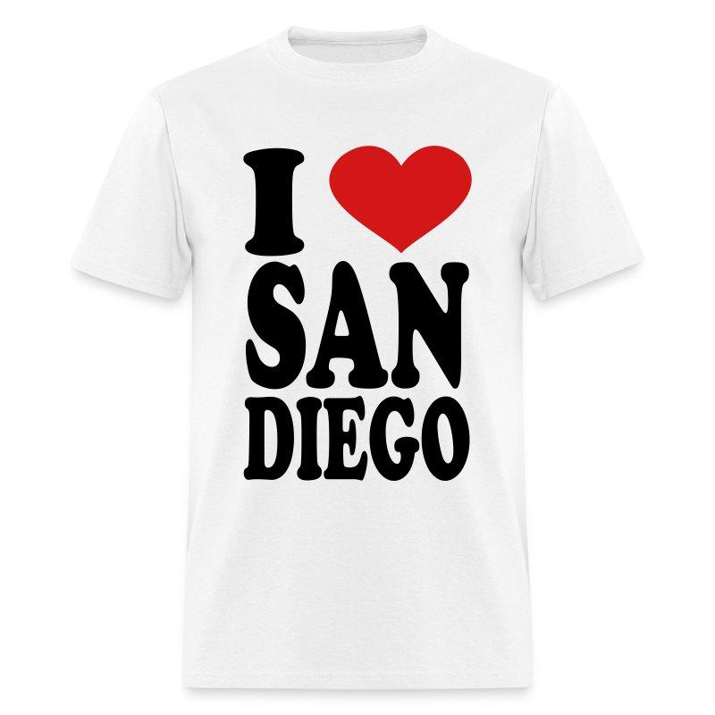 I love san diego t shirt spreadshirt for Shirt printing san diego