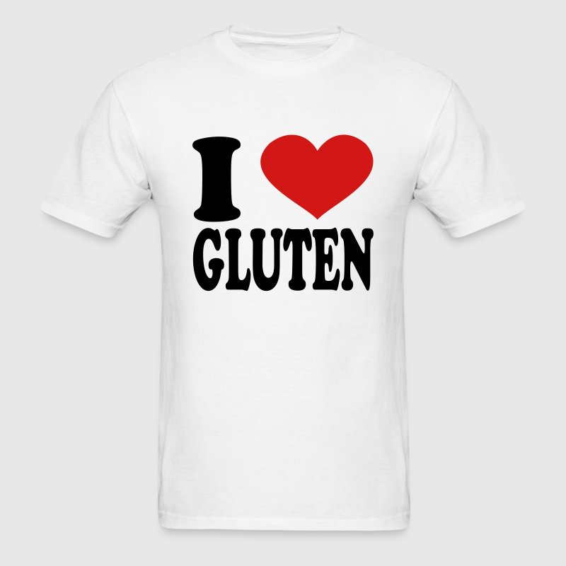 I Love Gluten T-Shirts - Men's T-Shirt