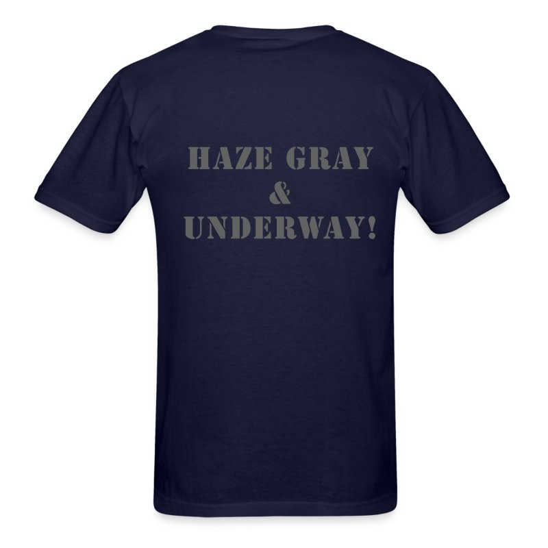 Us Navy Haze Gray Underway Design T Shirt Spreadshirt