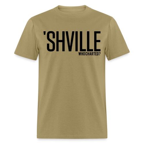 'SHVILLE - Men's T-Shirt