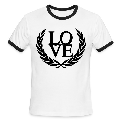 Love - Men's Ringer T-Shirt