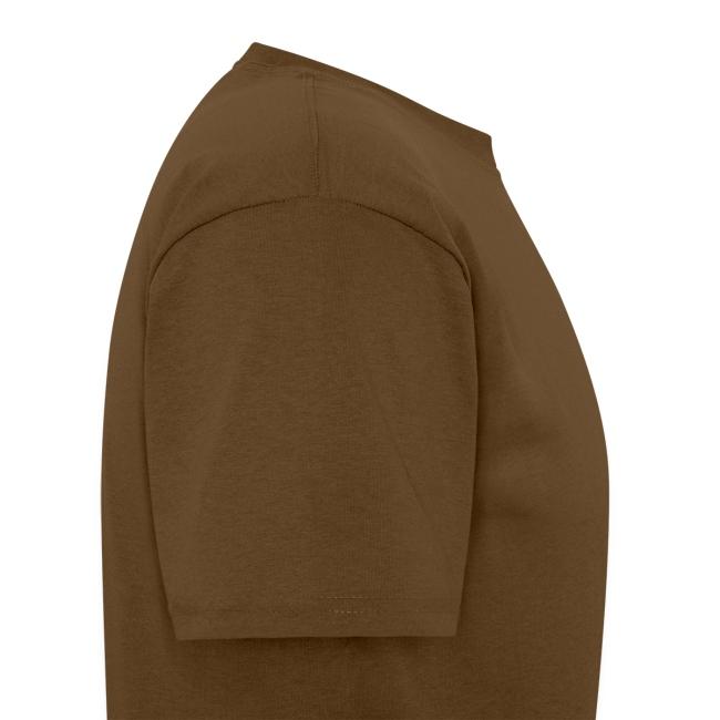 Brown Shirt, Red/Black 2BC logo