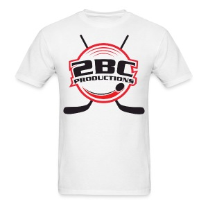 White Shirt, Clear logo - Men's T-Shirt