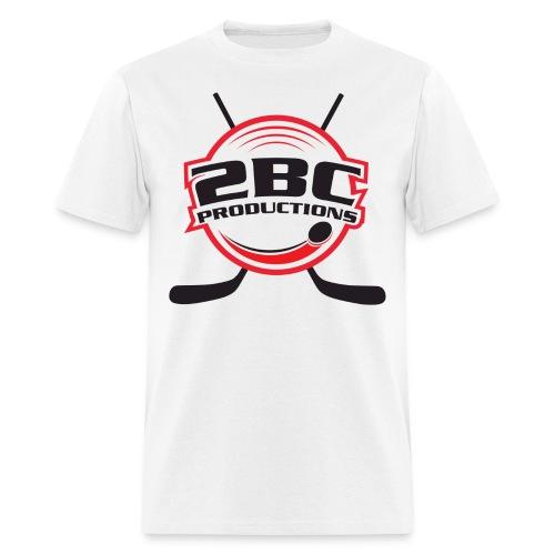 White Shirt, Clear logo - Men's T-Shirt