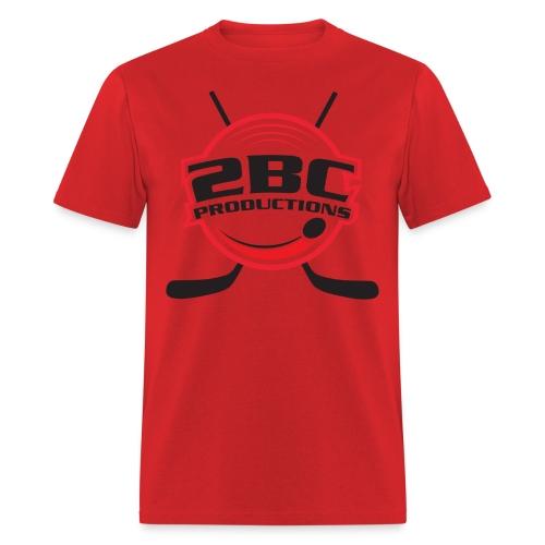 Red Shirt, Clear logo - Men's T-Shirt