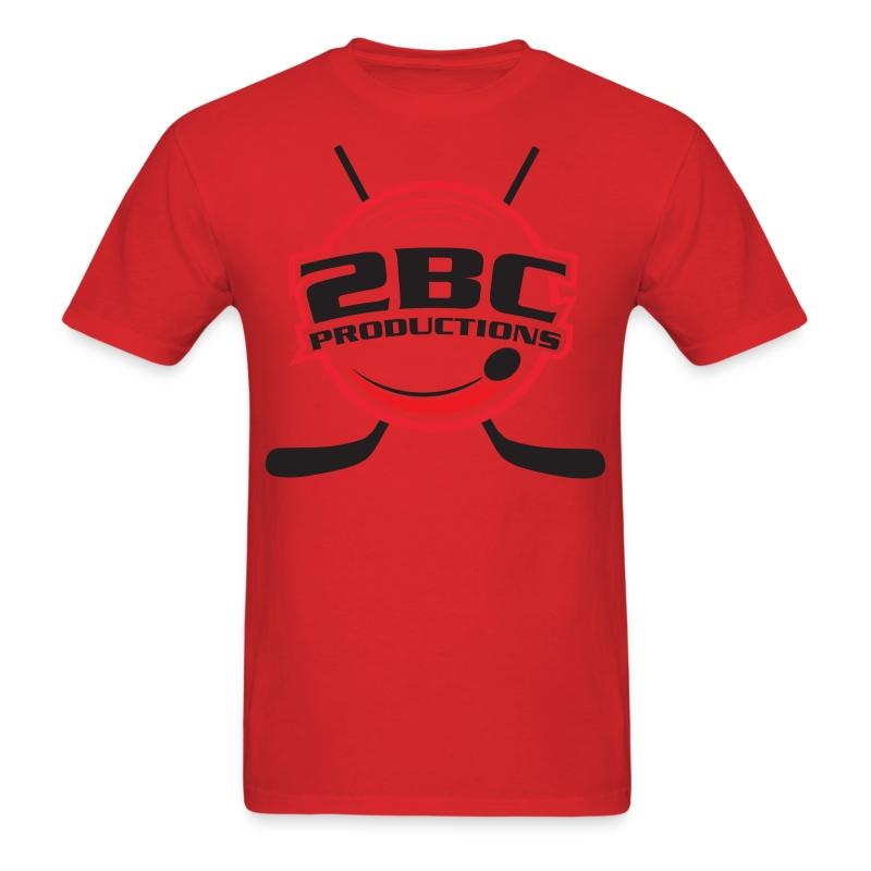 Red Shirt, Clear logo - Men's T-Shirt