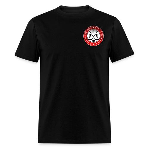 Black Shirt, 2BCHL logo - Men's T-Shirt