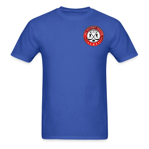 Blue Shirt, 2BCHL logo - Men's T-Shirt