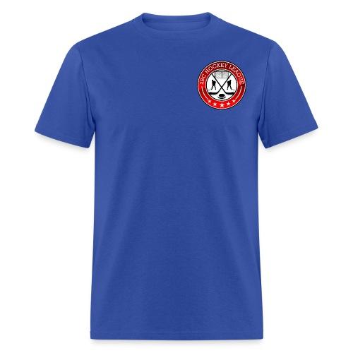 Blue Shirt, 2BCHL logo - Men's T-Shirt