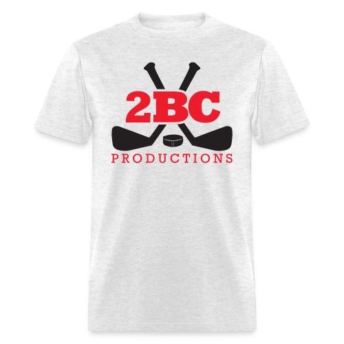 Light Oxford Shirt, Red/Black 2BC logo - Men's T-Shirt