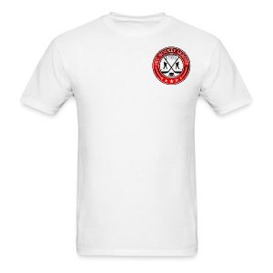 White Shirt, 2BCHL logo - Men's T-Shirt