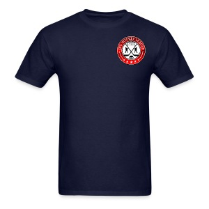 Black Shirt, 2BCHL logo - Men's T-Shirt