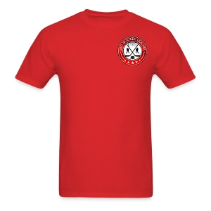 Red Shirt, 2BCHL logo - Men's T-Shirt
