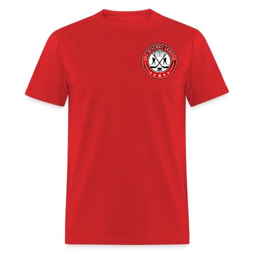 Red Shirt, 2BCHL logo - Men's T-Shirt
