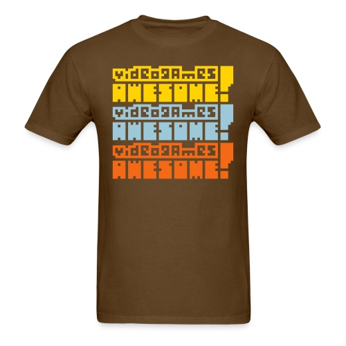 3-stack: Arcade Cabinate - Men's T-Shirt