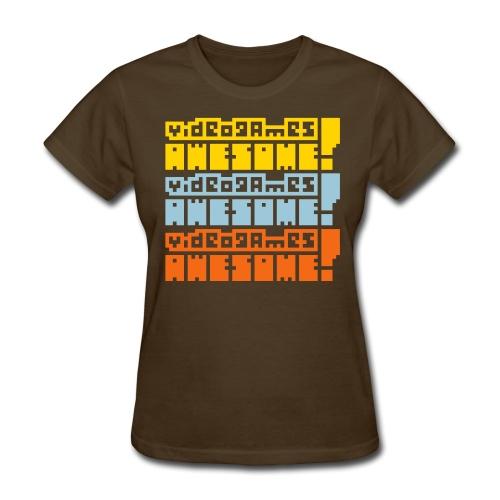 3-stack: Arcade Cabinate - Women's T-Shirt