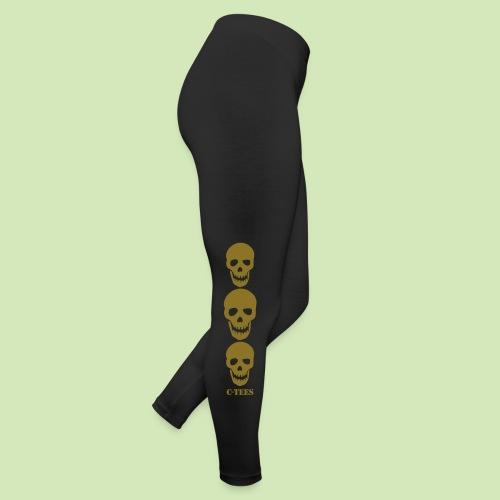 Gym Skulls Metallic Foil - Leggings