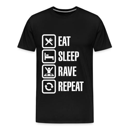 Ravers - Men's Premium T-Shirt