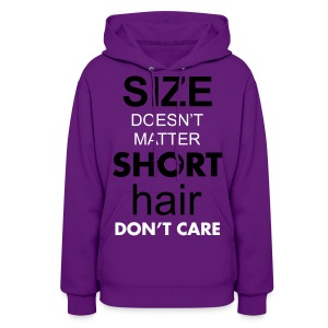 SIZE doesn't MATTER - Women's Hoodie