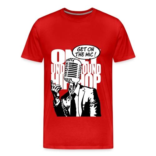 Only Underground Hip Hop - Men's Premium T-Shirt