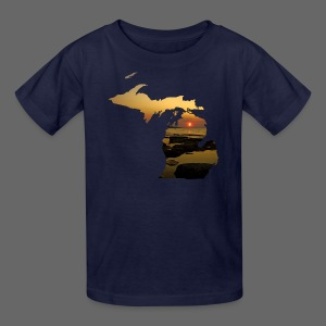 Michigan Sunset - Kids' T-Shirt
