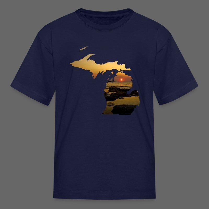 Michigan Sunset - Kids' T-Shirt