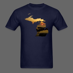 Michigan Sunset - Men's T-Shirt